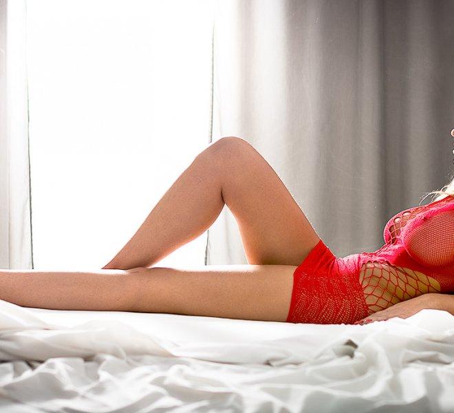 dagmara na łóżku